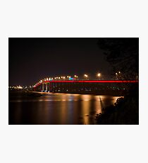 Tasman Bridge - Dark Mofo Photographic Print