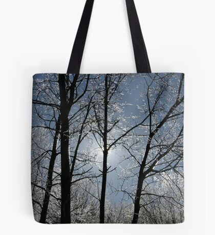 Mother Nature's Crystals Tote Bag