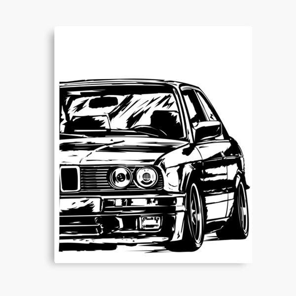 E36 BMW M3 Motorsport E30 E46 E90 et Série 3 Rétro Gris Cadeau T-Shirt