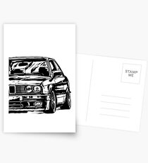 "E30 ""Dirtystyle"" Postcards"