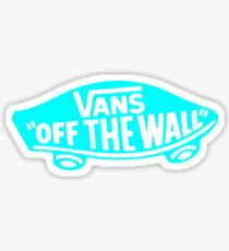 VansOTW Logo Blue Ocean Sticker