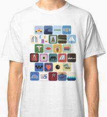 Die Beach Boys Discographie Classic T-Shirt