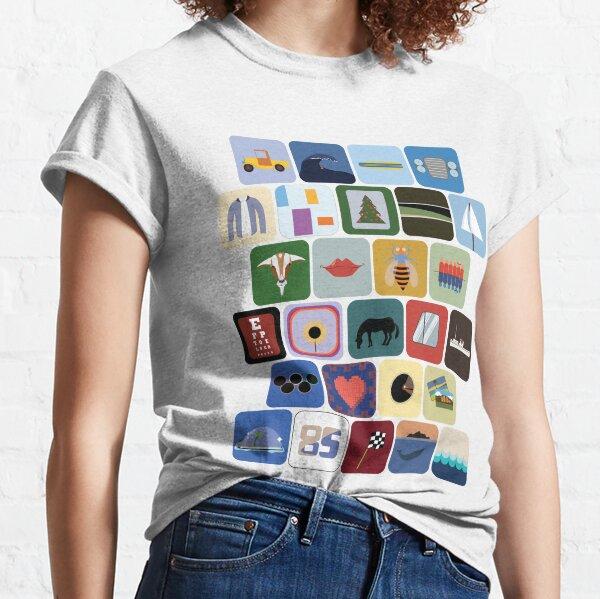 The Beach Boys Discography  Classic T-Shirt