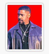 Denzel Washington Sticker