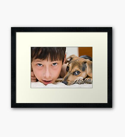 the best friends Framed Print