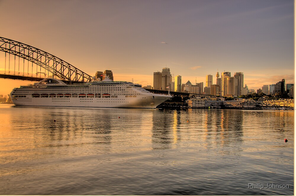 Morning Arrival - Moods Of A City - The HDR Experience by Philip Johnson
