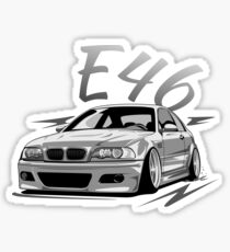 Bmw E46 Touring Stickers Redbubble