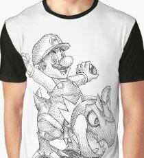 Mario and Tyrunt by Simonpdv Graphic T-Shirt