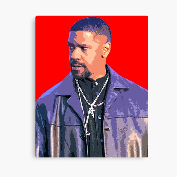 Denzel Washington Canvas Print