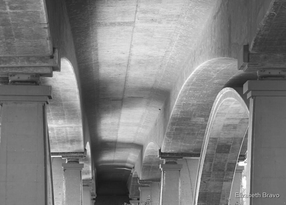 Heart of a bridge by Elizabeth Bravo