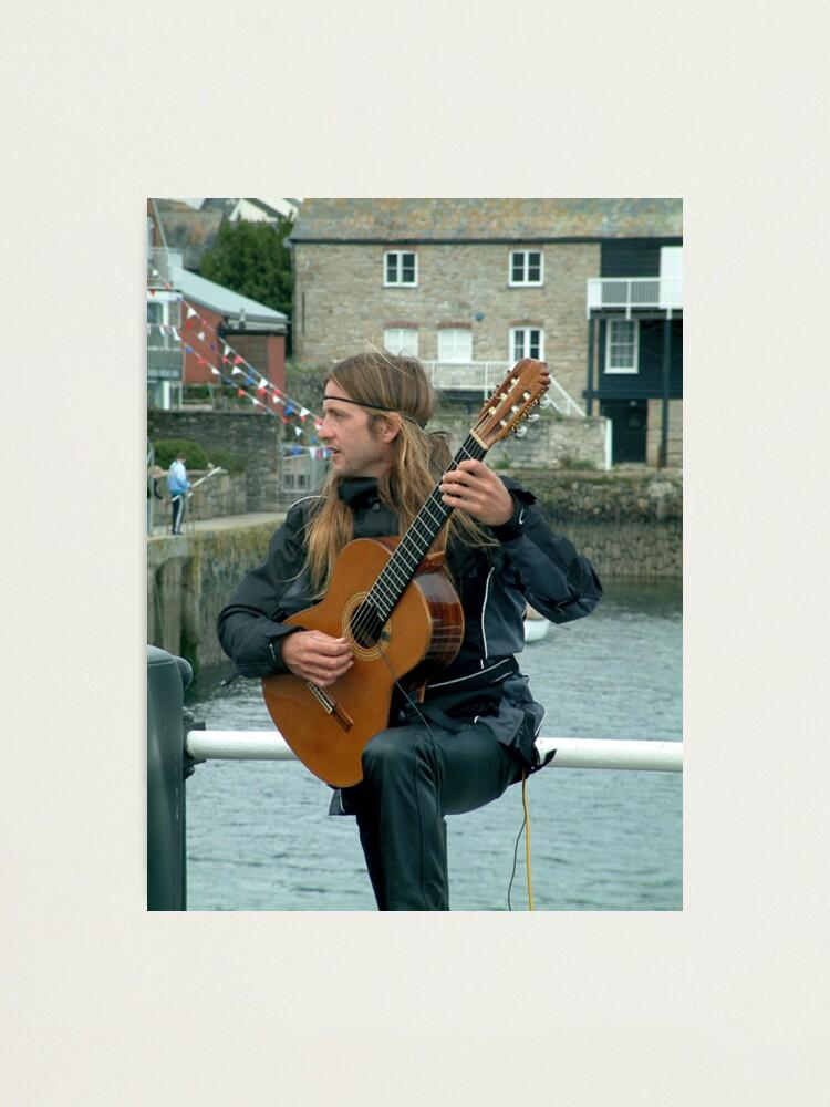 Alternate view of Troubador Photographic Print
