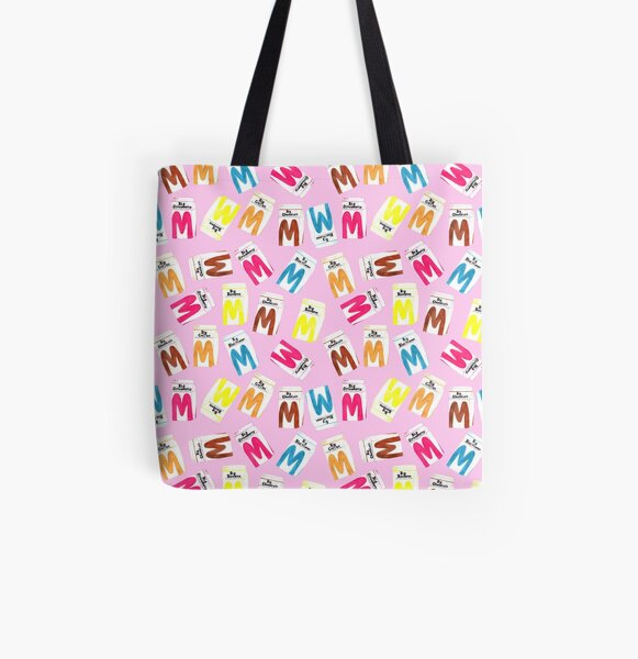 Big M Party - Pink All Over Print Tote Bag