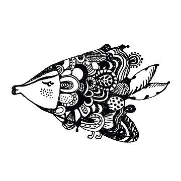 Fish NO. 1 by milicaziva