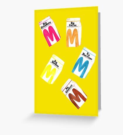 Big M Party - Mustard Greeting Card
