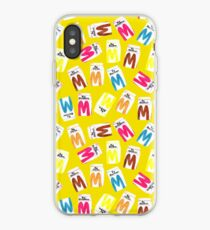 Big M Party - Mustard iPhone Case