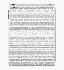 typography black iPad Case/Skin