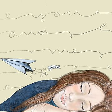 Send you lovely thoughts by paper airplane by yvonne-crayon