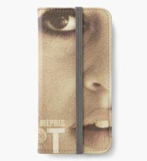 Le mépris (Contempt), Brigitte Bardot, movie poster, french film by Jean-Luc Godard, Fritz Lang, nouvelle vague iPhone Wallet/Case/Skin