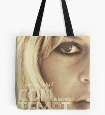 Le mépris (Contempt), Brigitte Bardot, movie poster, french film by Jean-Luc Godard, Fritz Lang, nouvelle vague Tote Bag