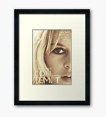 Le mépris (Contempt), Brigitte Bardot, movie poster, french film by Jean-Luc Godard, Fritz Lang, nouvelle vague Framed Print