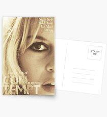 Le mépris (Contempt), Brigitte Bardot, movie poster, french film by Jean-Luc Godard, Fritz Lang, nouvelle vague Postcards