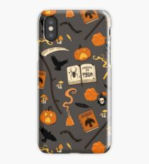 Scarecrow pattern iPhone Case