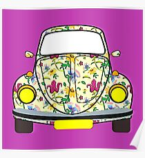 Hippy Bug Poster