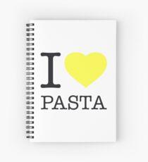 I ♥ PASTA Spiral Notebook