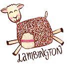 Lambington - White by makemerriness
