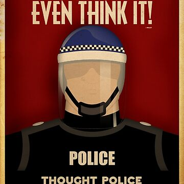 the thought police essay Sample a+ essay how to cite this sparknote  he is a member of the thought police syme - an intelligent, outgoing man who works with winston at the ministry of.