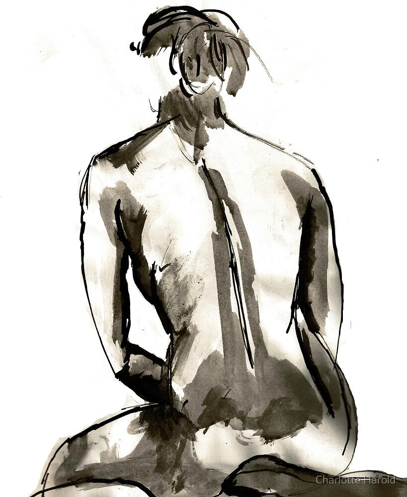 Inky Back by Charlotte Harold