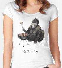 Grilla Women's Fitted Scoop T-Shirt