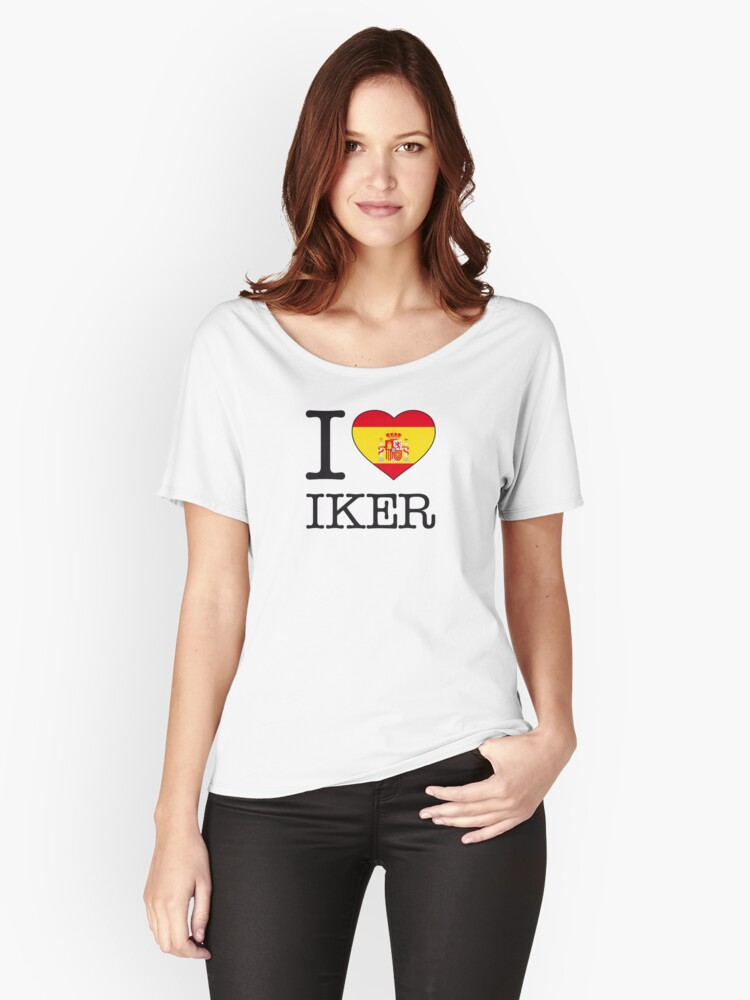 I ♥ IKER Women's Relaxed Fit T-Shirt Front