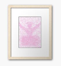 2513 - Shadow of a Pink Preacher in a Pink-Colored Cloud Framed Print