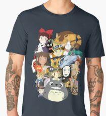 Studio Ghibli Collage Men's Premium T-Shirt