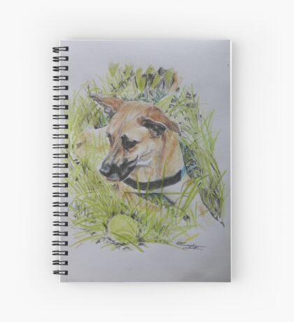 Dog ~ Hond Spiral Notebook