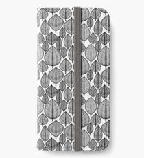 Leaves Pattern iPhone Wallet/Case/Skin