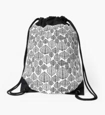 Leaves Pattern Drawstring Bag