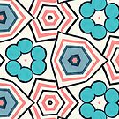 Jazzy - Geometric Floral  by LoraineCallow
