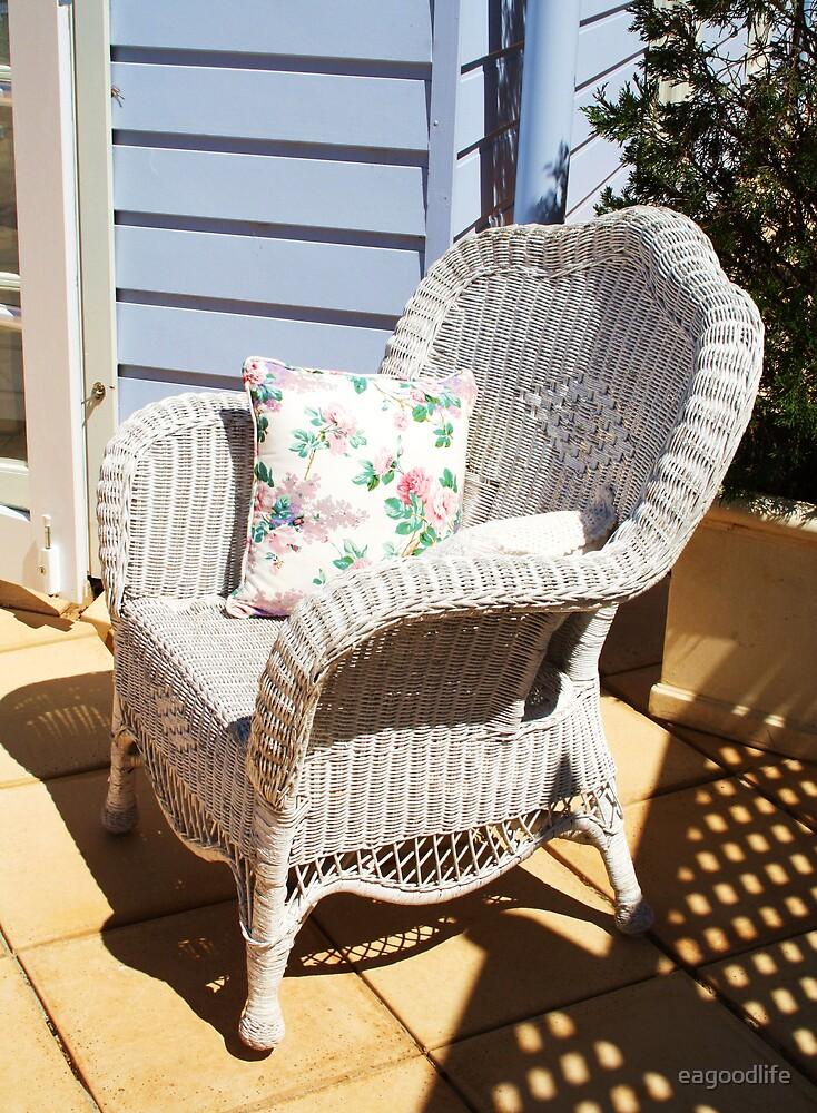 The Wicker Chair by eagoodlife