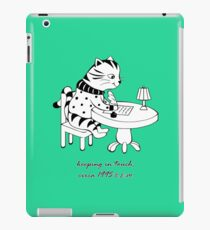 Time Before Email (Green) iPad Case/Skin