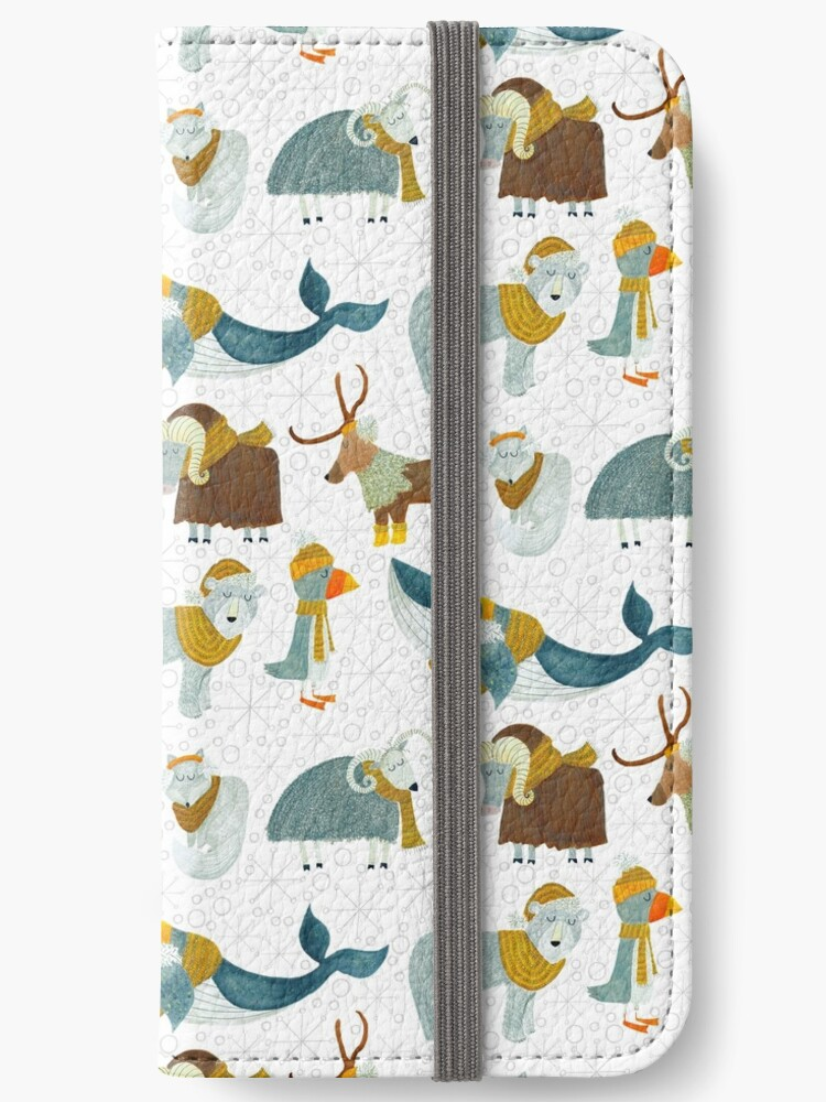 Pattern 72 - Arctic animals  by Irene Silvino