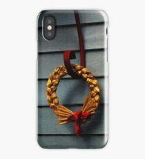Winter Wreath iPhone Case/Skin