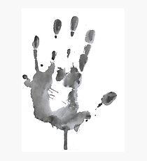Giant Handprint Photographic Print