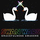 Swan Wars Geek Star Parody For Ballet Dancers On the Lake T shirt by DesIndie