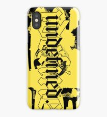 undefined tribute | Official Clothing Line | Original iPhone X Phone Case Design iPhone Case/Skin