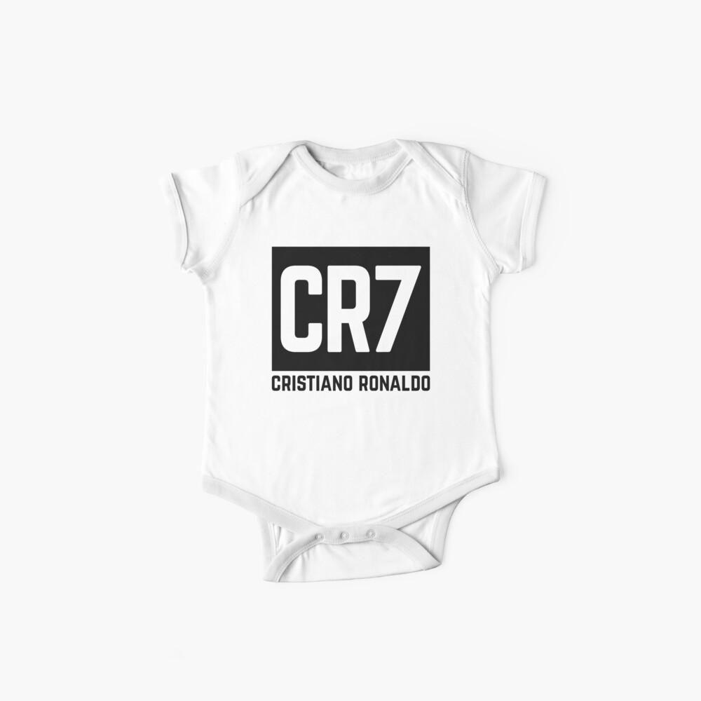 Cristiano Ronaldo schwarz Baby Bodys