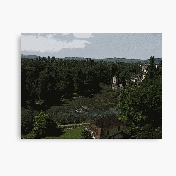 Green View Canvas Print