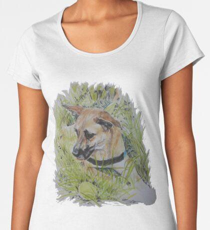 Dog ~ Hond Premium Scoop T-Shirt