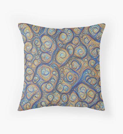 Stones #DeepDream Floor Pillow
